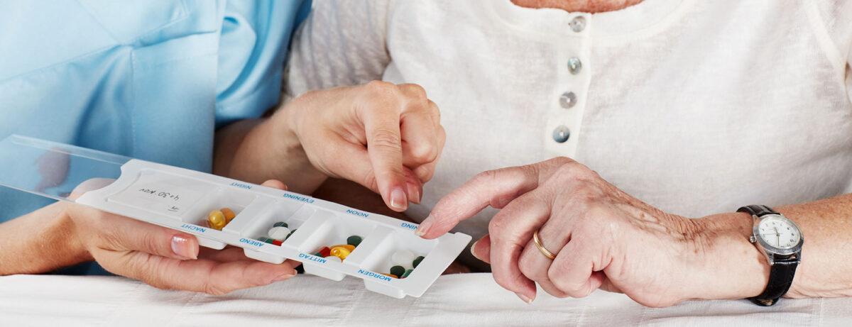 Medikamentenabgabe Spitex Prix Santé Region Uster, Pflege und Betreuung für Senioren Zuhause und HomeCare Plus-Service
